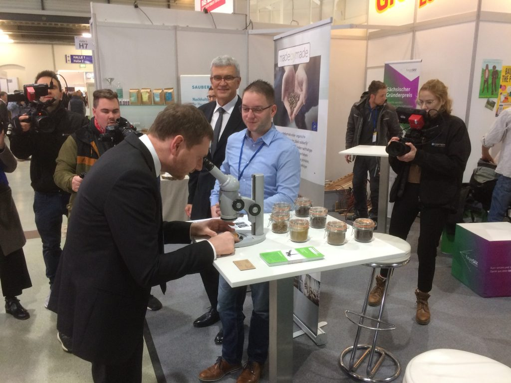 madebymade auf der Karriere Start Messe 2020