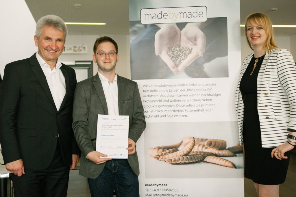 madebymade gewinnt Best Bio-based Business Award 2017