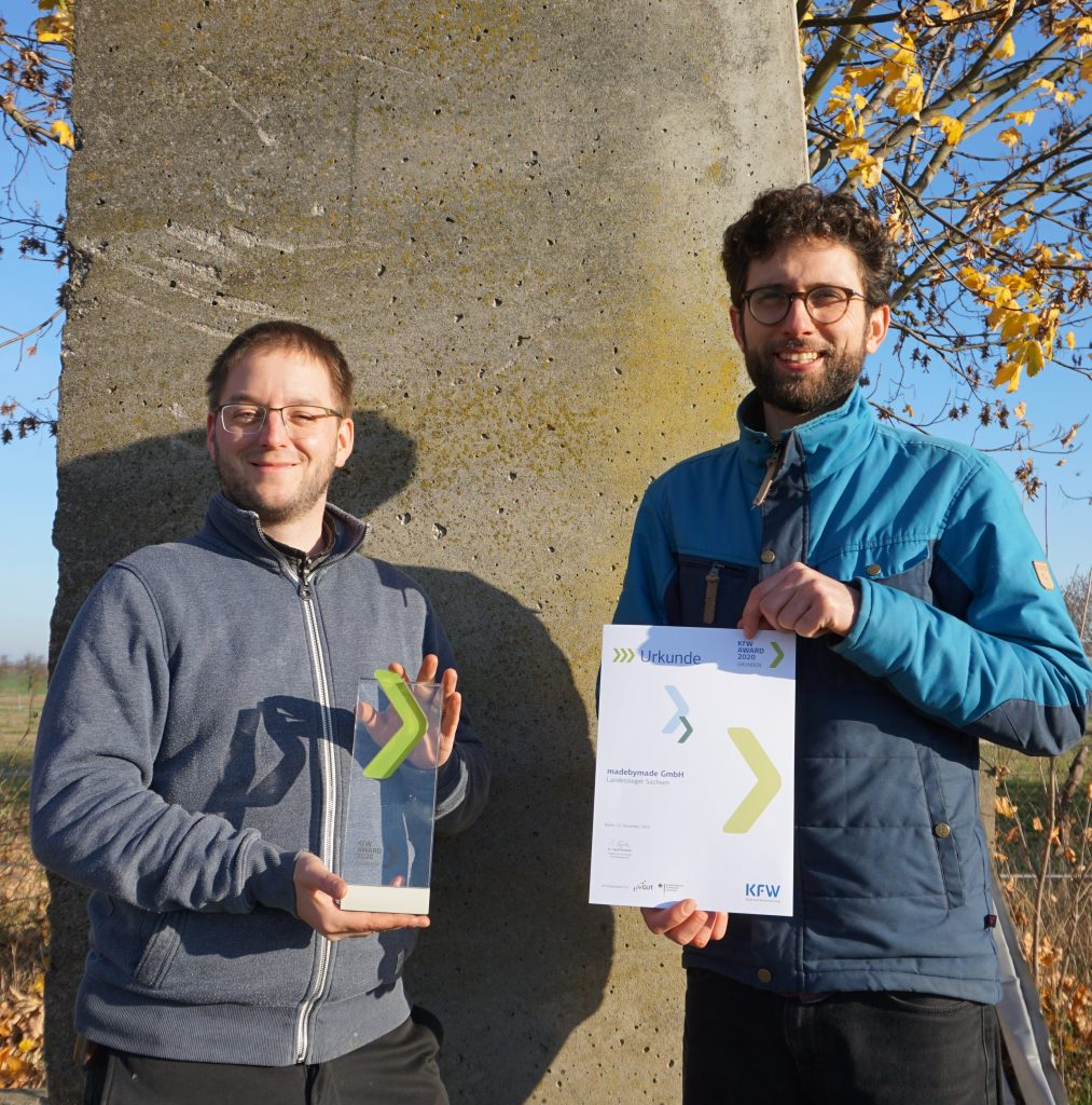Landessieger beim KfW Gründen 2020 Award!
