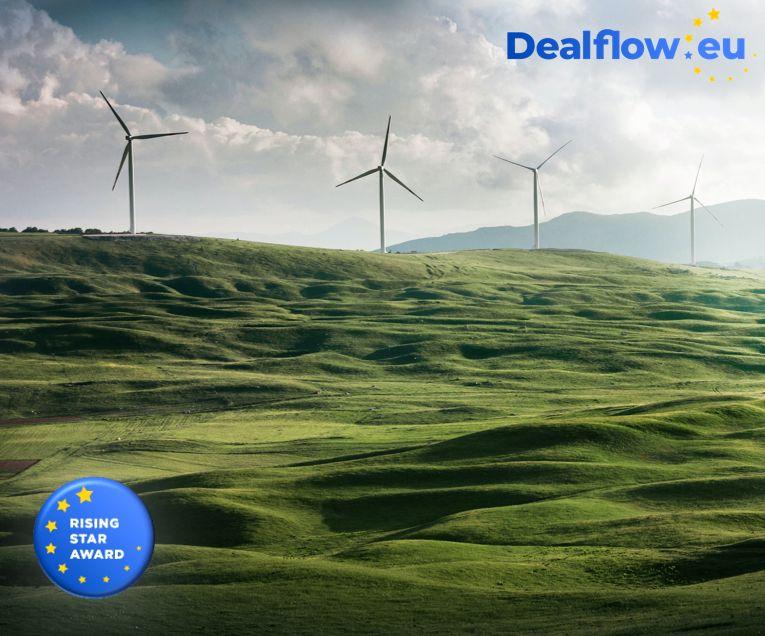 Winner of Best EU backed sustainability startup